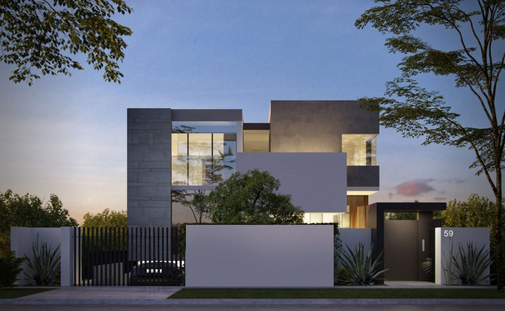 House Render for Home in Strathfield
